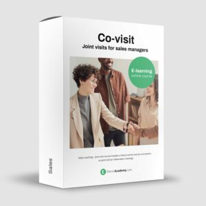 Co-visit - Joint visits for sales managers - Online course