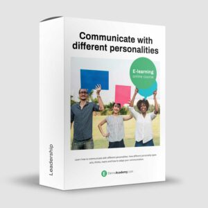 Communicate with different personalities - DISC - Online course