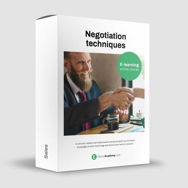 Negotiation techniques - Online course