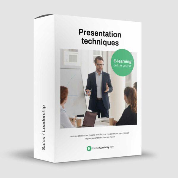 Presentation techniques - Online course