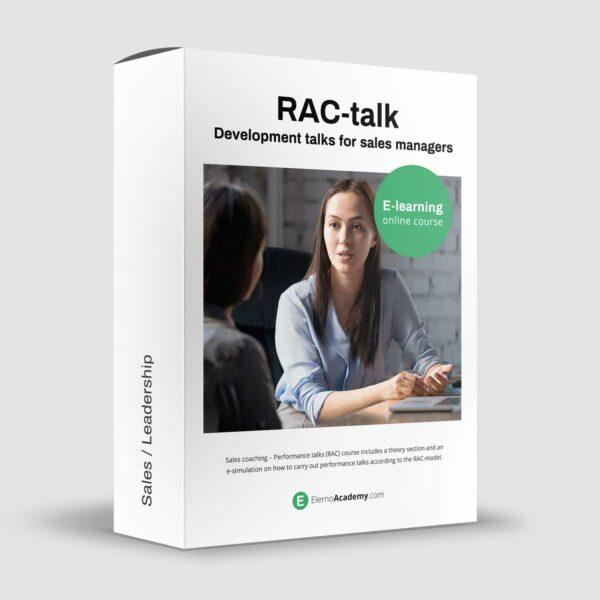 RAC-talks - Development talks for sales managers - Online course